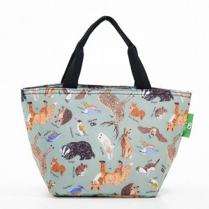 Eco Chic Woodland Cool Bag.
