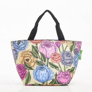 Eco Chic Peonies Cool Bag.